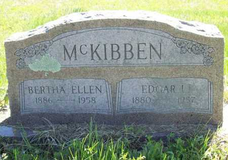 MCKIBBEN, EDGAR L. - Benton County, Arkansas | EDGAR L. MCKIBBEN - Arkansas Gravestone Photos
