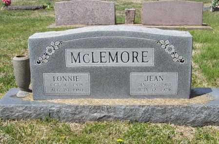 MCLEMORE, JEAN - Benton County, Arkansas | JEAN MCLEMORE - Arkansas Gravestone Photos