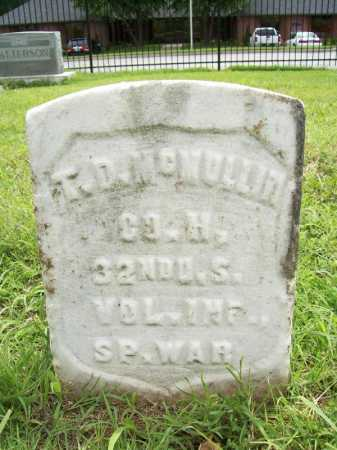 MCMULLIN (VETERAN SAW), T. D. - Benton County, Arkansas | T. D. MCMULLIN (VETERAN SAW) - Arkansas Gravestone Photos