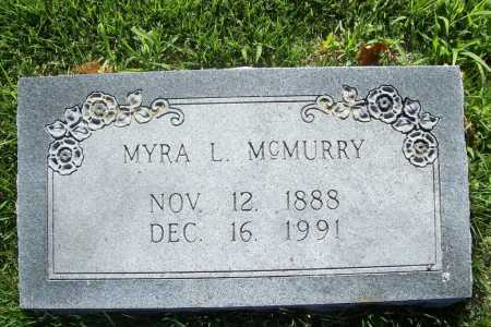 MCMURRY, MYRA L. - Benton County, Arkansas | MYRA L. MCMURRY - Arkansas Gravestone Photos