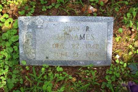 MCNAMES, JOHN R. - Benton County, Arkansas | JOHN R. MCNAMES - Arkansas Gravestone Photos