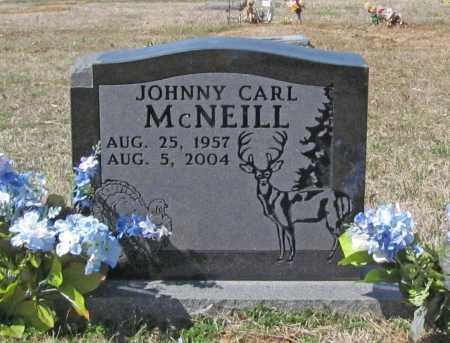 MCNEILL, JOHNNY CARL - Benton County, Arkansas | JOHNNY CARL MCNEILL - Arkansas Gravestone Photos