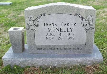 MCNELLY, FRANK CARTER - Benton County, Arkansas | FRANK CARTER MCNELLY - Arkansas Gravestone Photos