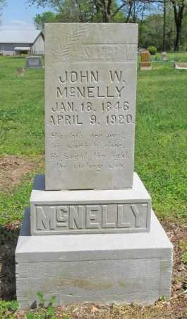 MCNELLY, JOHN W. - Benton County, Arkansas | JOHN W. MCNELLY - Arkansas Gravestone Photos