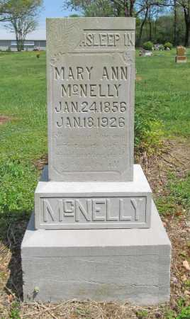 MCNELLY, MARY ANN - Benton County, Arkansas | MARY ANN MCNELLY - Arkansas Gravestone Photos