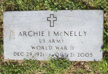 MCNELLY (VETERAN WWII), ARCHIE IRVIN - Benton County, Arkansas | ARCHIE IRVIN MCNELLY (VETERAN WWII) - Arkansas Gravestone Photos