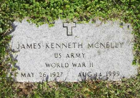 MCNELLY (VETERAN WWII), JAMES KENNETH - Benton County, Arkansas | JAMES KENNETH MCNELLY (VETERAN WWII) - Arkansas Gravestone Photos