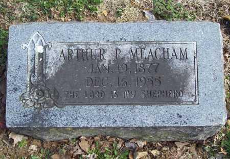 MEACHAM, ARTHUR P. - Benton County, Arkansas | ARTHUR P. MEACHAM - Arkansas Gravestone Photos