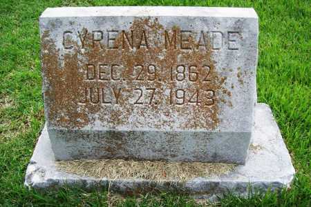 MEADE, CYRENA - Benton County, Arkansas | CYRENA MEADE - Arkansas Gravestone Photos