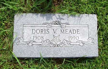 MEADE, DORIS V. - Benton County, Arkansas | DORIS V. MEADE - Arkansas Gravestone Photos