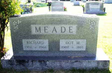 MEADE, DOT M. - Benton County, Arkansas | DOT M. MEADE - Arkansas Gravestone Photos