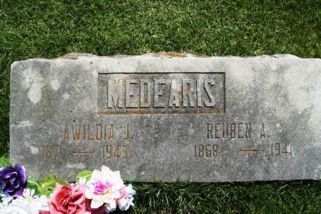 MEDEARIS, AWILDIA J - Benton County, Arkansas | AWILDIA J MEDEARIS - Arkansas Gravestone Photos