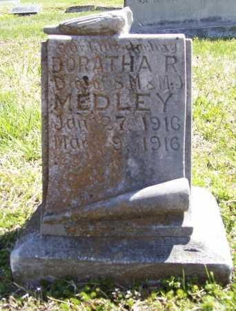 MEDLEY, DORATHA R. - Benton County, Arkansas | DORATHA R. MEDLEY - Arkansas Gravestone Photos