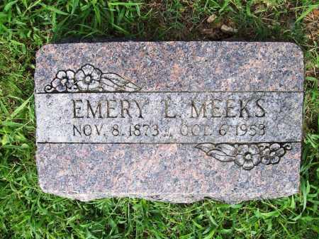 MEEKS, EMERY L. - Benton County, Arkansas | EMERY L. MEEKS - Arkansas Gravestone Photos