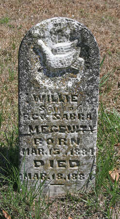 MEGENITY, WILLIE - Benton County, Arkansas | WILLIE MEGENITY - Arkansas Gravestone Photos