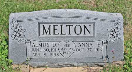 MELTON, ANNA EULALIA - Benton County, Arkansas | ANNA EULALIA MELTON - Arkansas Gravestone Photos