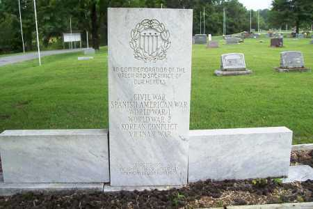 MEMORIAL, VETERANS - Benton County, Arkansas | VETERANS MEMORIAL - Arkansas Gravestone Photos