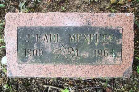MENEFEE, J. EARL - Benton County, Arkansas | J. EARL MENEFEE - Arkansas Gravestone Photos