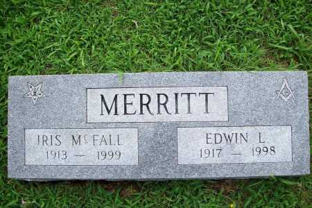 MCFALL MERRITT, IRIS - Benton County, Arkansas | IRIS MCFALL MERRITT - Arkansas Gravestone Photos
