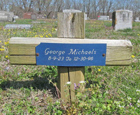 MICHAELS, GEORGE - Benton County, Arkansas | GEORGE MICHAELS - Arkansas Gravestone Photos