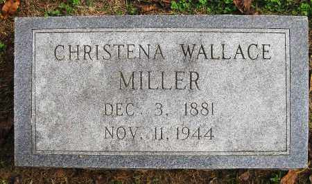 WALLACE MILLER, CHRISTENA - Benton County, Arkansas | CHRISTENA WALLACE MILLER - Arkansas Gravestone Photos