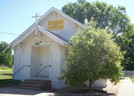 *MILLER CHURCH BUILDING,  - Benton County, Arkansas    *MILLER CHURCH BUILDING - Arkansas Gravestone Photos