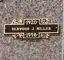 MILLER, DERWOOD J. - Benton County, Arkansas | DERWOOD J. MILLER - Arkansas Gravestone Photos