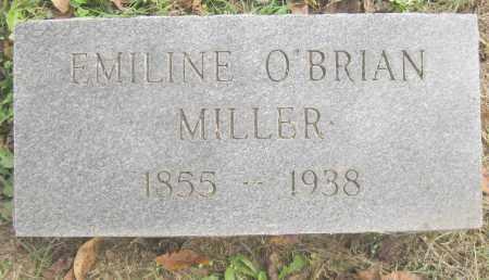 O'BRIAN MILLER, EMILINE - Benton County, Arkansas | EMILINE O'BRIAN MILLER - Arkansas Gravestone Photos