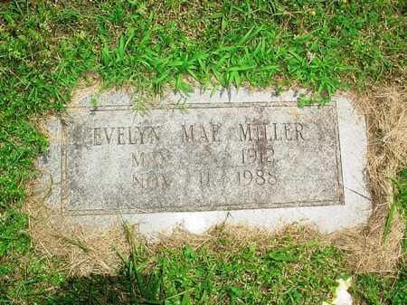 MILLER, EVELYN MAE - Benton County, Arkansas | EVELYN MAE MILLER - Arkansas Gravestone Photos
