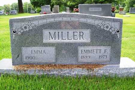 MILLER, EMMETT F. - Benton County, Arkansas | EMMETT F. MILLER - Arkansas Gravestone Photos