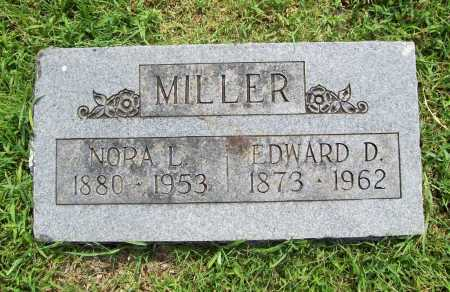 MILLER, EDWARD D. - Benton County, Arkansas | EDWARD D. MILLER - Arkansas Gravestone Photos