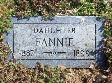 MILLER, FANNIE - Benton County, Arkansas | FANNIE MILLER - Arkansas Gravestone Photos