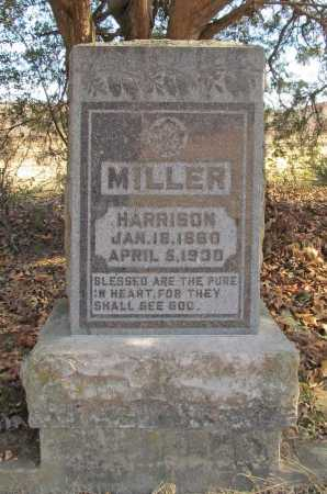 MILLER, HARRISON - Benton County, Arkansas | HARRISON MILLER - Arkansas Gravestone Photos