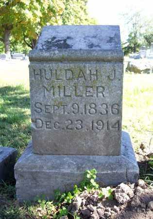 MILLER, HULDAH J. - Benton County, Arkansas | HULDAH J. MILLER - Arkansas Gravestone Photos