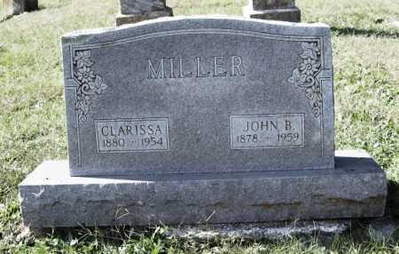 MILLER, JOHN B. - Benton County, Arkansas | JOHN B. MILLER - Arkansas Gravestone Photos