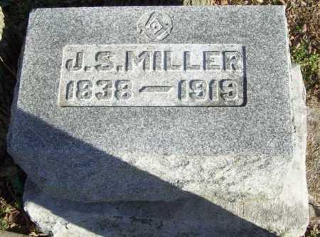 MILLER, J. S. - Benton County, Arkansas | J. S. MILLER - Arkansas Gravestone Photos