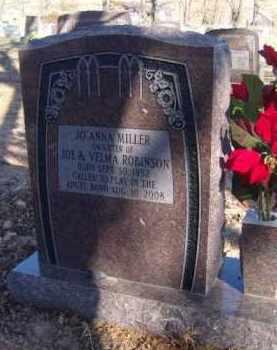 MILLER, JO ANNA - Benton County, Arkansas | JO ANNA MILLER - Arkansas Gravestone Photos