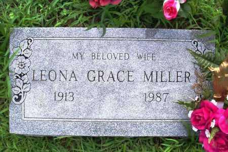 MILLER, LEONA GRACE - Benton County, Arkansas | LEONA GRACE MILLER - Arkansas Gravestone Photos