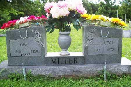 BANKS MILLER, OPAL - Benton County, Arkansas | OPAL BANKS MILLER - Arkansas Gravestone Photos
