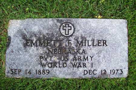 MILLER (VETERAN WWI), EMMETT F. - Benton County, Arkansas | EMMETT F. MILLER (VETERAN WWI) - Arkansas Gravestone Photos