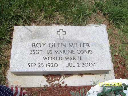MILLER (VETERAN WWII), ROY GLEN - Benton County, Arkansas | ROY GLEN MILLER (VETERAN WWII) - Arkansas Gravestone Photos