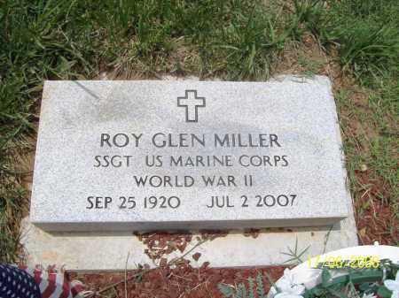 MILLER (VETERAN WWII), ROY GLEN - Benton County, Arkansas | ROY GLEN MILLER (VETERAN WWII) - Arkansas Gravestone Photos