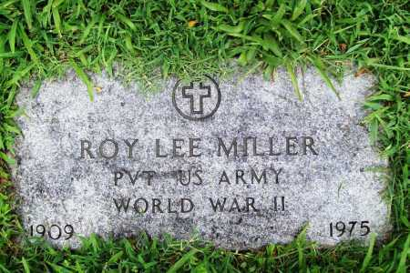 MILLER (VETERAN WWII), ROY LEE - Benton County, Arkansas | ROY LEE MILLER (VETERAN WWII) - Arkansas Gravestone Photos