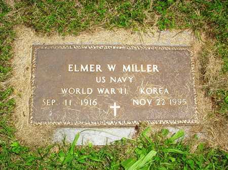 MILLER (VETERAN 2 WARS), ELMER W. - Benton County, Arkansas | ELMER W. MILLER (VETERAN 2 WARS) - Arkansas Gravestone Photos