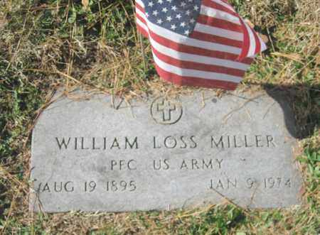 MILLER (VETERAN), WILLIAM LOSS - Benton County, Arkansas | WILLIAM LOSS MILLER (VETERAN) - Arkansas Gravestone Photos