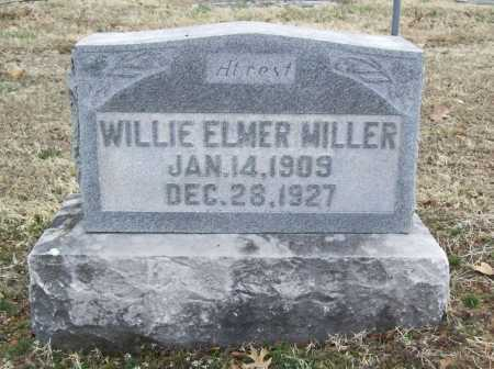 MILLER, WILLIE ELMER - Benton County, Arkansas | WILLIE ELMER MILLER - Arkansas Gravestone Photos