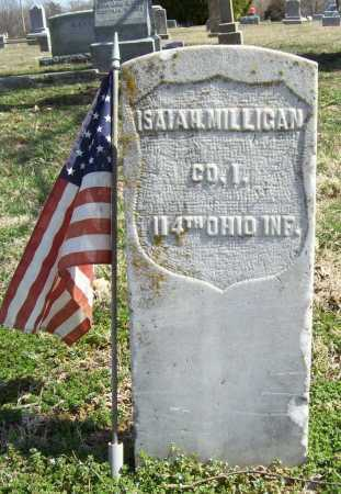 MILLIGAN (VETERAN UNION), ISAIAH - Benton County, Arkansas | ISAIAH MILLIGAN (VETERAN UNION) - Arkansas Gravestone Photos