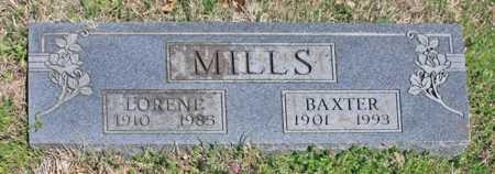 MILLS, BAXTER F - Benton County, Arkansas | BAXTER F MILLS - Arkansas Gravestone Photos