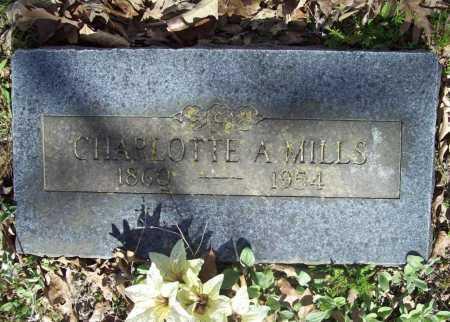 MILLS, CHARLOTTE A. - Benton County, Arkansas | CHARLOTTE A. MILLS - Arkansas Gravestone Photos