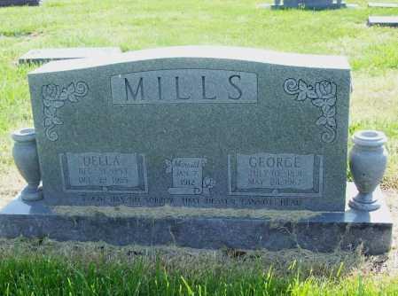 MILLS, DELLA - Benton County, Arkansas | DELLA MILLS - Arkansas Gravestone Photos